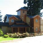 Vista modulos de cabaña