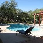 Pool at Desert Trails B&B