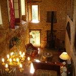 Salon chimenea