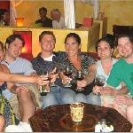 Dinner with friends at Byblos, 2007
