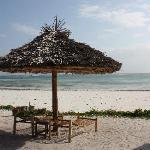 La spiaggia del Dongwe