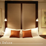 The Deluxe rooms are located on the top floors of our building; several have a breathtaking view