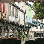 Medieval town of Mirepoix