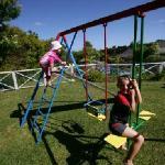 Safe children's play area