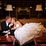 Crowne Plaza Louisville - Bride and Groom