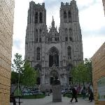 outside the cathedral