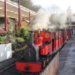 Steam Train at Rudyard Lake Steam Railway