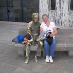 Sarah, Einstein & Laurie @ the Parque de los Ciencias (Science Museum)