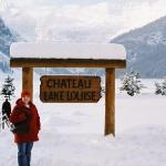 We stayed at the amazing Fairmont Chateau Lake Louise.