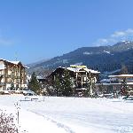 Der Eschenhof in malerischer Winterlandschaft