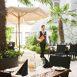 Garden Terrace Hotel Continental Zurich