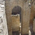 Jerusalem - A recently uncovered gate near the pools of Bethesda.