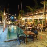 pool bach view