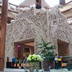 chime long hotel lobby