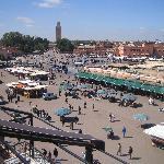 Medina - main square