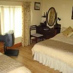 Luxury Bedroom at O'Driscoll's B&B. Glin