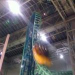 Rollercoaster in MOA. Its a copy of spongebob rollercoaster. :)