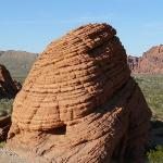 Bee-Hive rock formations in Valley of Fire.