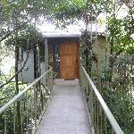 Canopy Bridge leading to Rising Sun Room