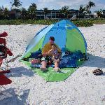 Our beach set-up