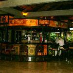 Tropical lobby bar