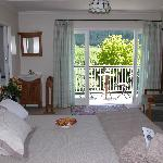 Bedroom of Sauvignon suite