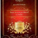 Awarded the best boutique hotel in delhi by times research