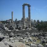 Temple of Apollo/Dionysis depending on the goat