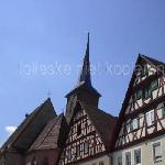 spitalthor (churchtower) in the Altstadt part