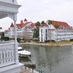 View from my room at the Grand Floridian (Building 7)