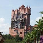 Helena and I survived the Tower of Terror @ MGM