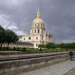 Les Invalides, the veterans hospital/home turned Napoleon's tomb/war museum. You'd think a count