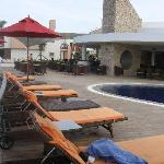 Acantilado restaurant, pool and bar