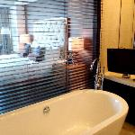 tub with tv