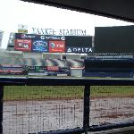 View from Yankee Bullpen