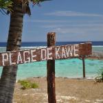 plage de Kawe