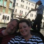 Gondola ride in Venice!!