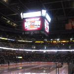 Really nice arena and scoreboard.