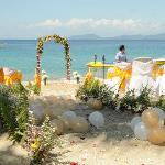 Our wedding at dreamwave - Beachfront (where we said our vows)
