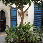 Blue Room Courtyard