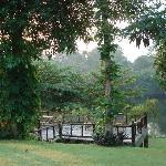 La terrasse sur la riviere
