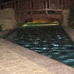 walk way by pool