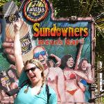 sundowners sign before they cut out faces