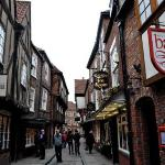 The Shambles. The local community have been recently discussing the evils of Google Maps which a