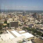 view of san an from the tower of the americas