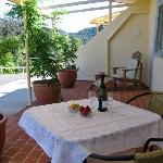 Private verandahs where your breakfast and other refreshments can be served