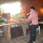 Tonino doing the BBQ