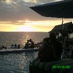 il tramonto dal rick's cafè