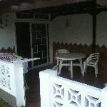 patio esterno davanti soggiorno