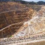 Open-cast gold mine Waihi